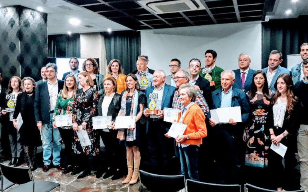 Entregados los premios AOVE de Cope de Jaén, donde Rusdalia fue galardonado